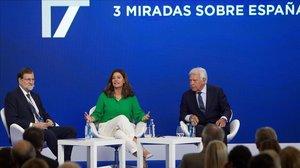 Rajoy i González demanen generositat als partits per recuperar l'estabilitat