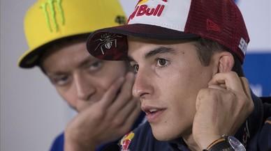 Rossi y Márquez no se verán las caras en Austin en la conferencia de prensa