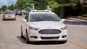 Un vehículo autónomo de pruebas de Ford.