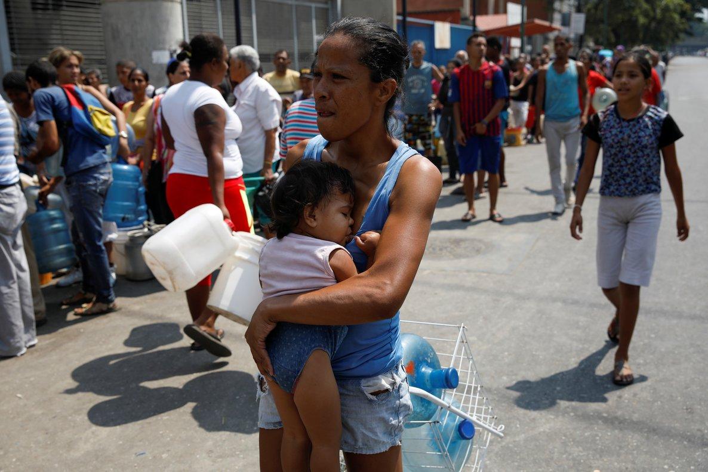 Los ciudadanos venezolanos están en grave riesgo sanitario por lacrisis en su país.