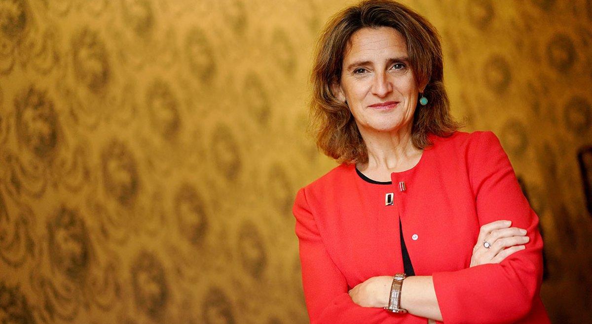 La vicepresidenta para la Transición Ecológica y el Reto Demográfico,Teresa Ribera.