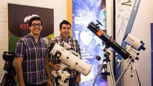 Xavi Nieto (derecha), junto a su socio David Fernàndez.