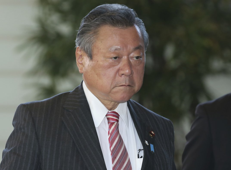 El ministro japonés de ciberseguridad, Yoshitaka Sakurada.