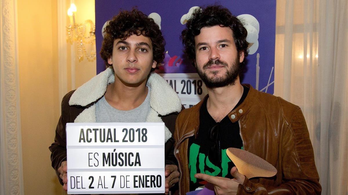 El fill de Bárcenas canta a 'Operación triunfo'
