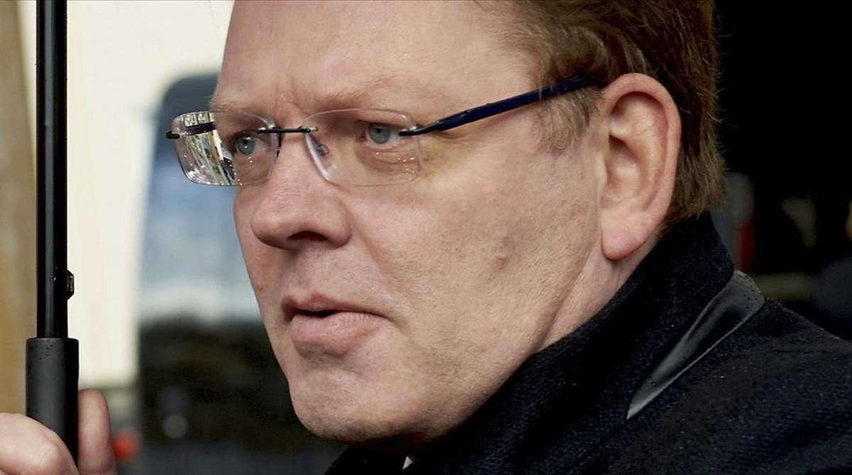 Andreas Holstein, el alcalde apuñalado en Alemania.