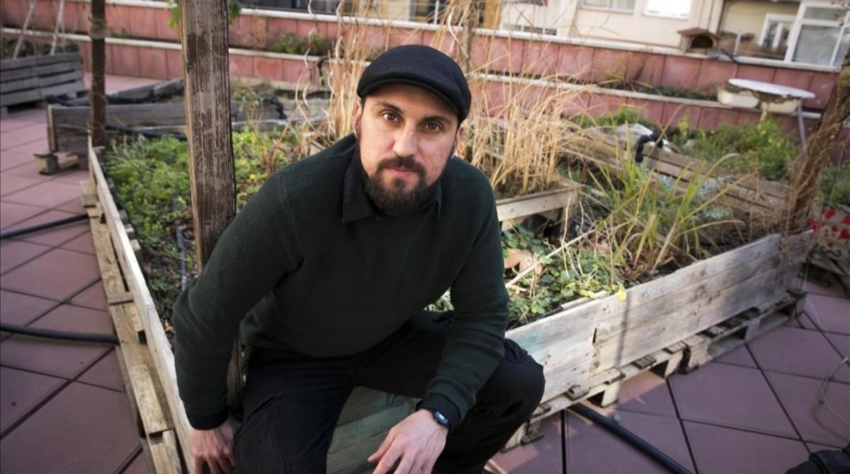 Amir Taaki, esta semana en Barcelona.