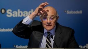 El Banc Sabadell preveu un increment del benefici d'un 60% en tres anys