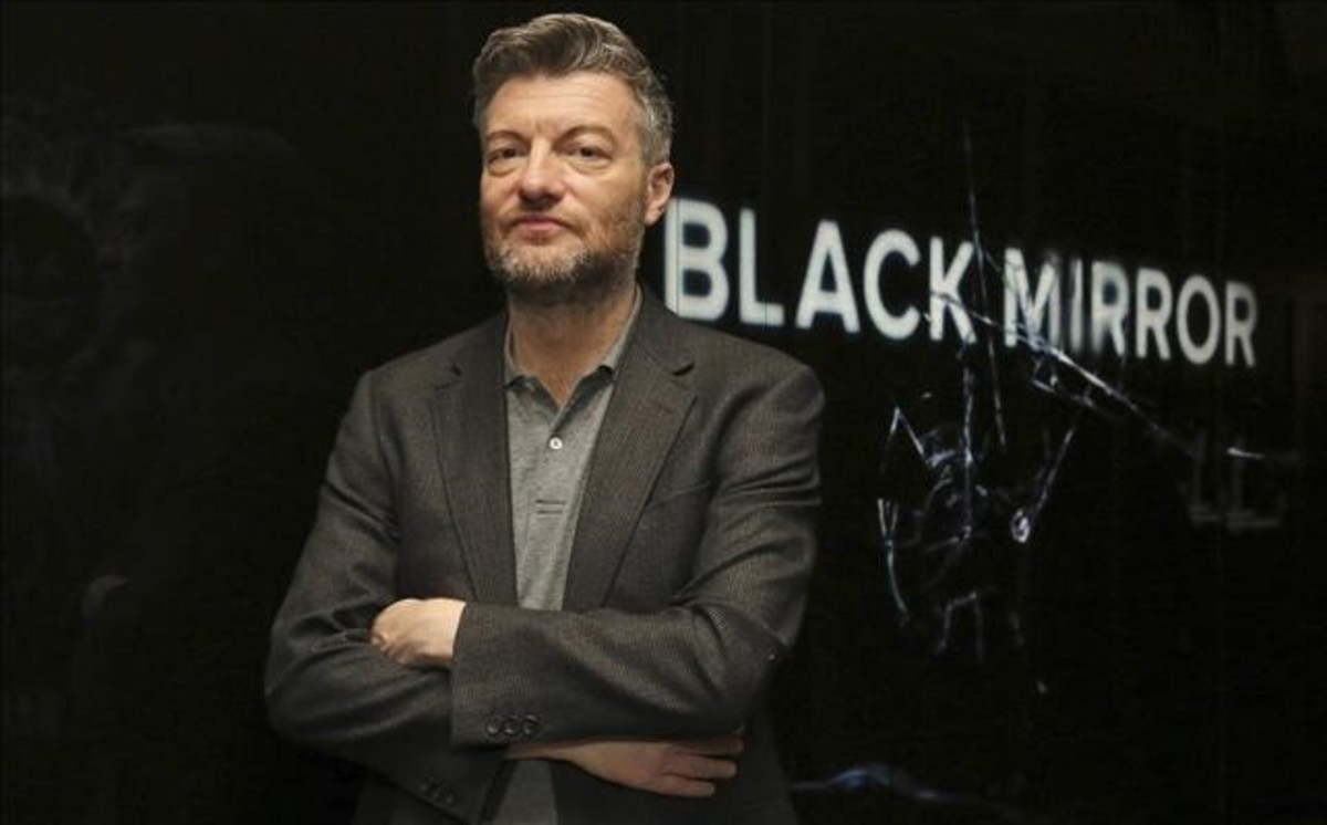 Charlie Brooker, creador de Black Mirror.