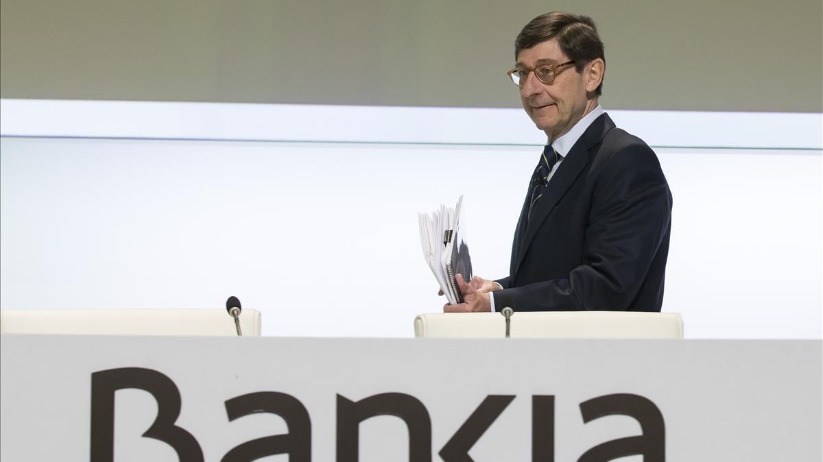 El Govern manté els seus plans per a Bankia malgrat l'acord amb Podem