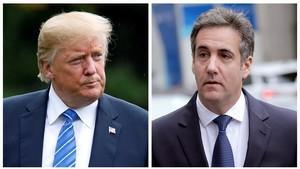 Els demòcrates prometen investigar una informació que Trump va ordenar a Cohen mentir al Congrés