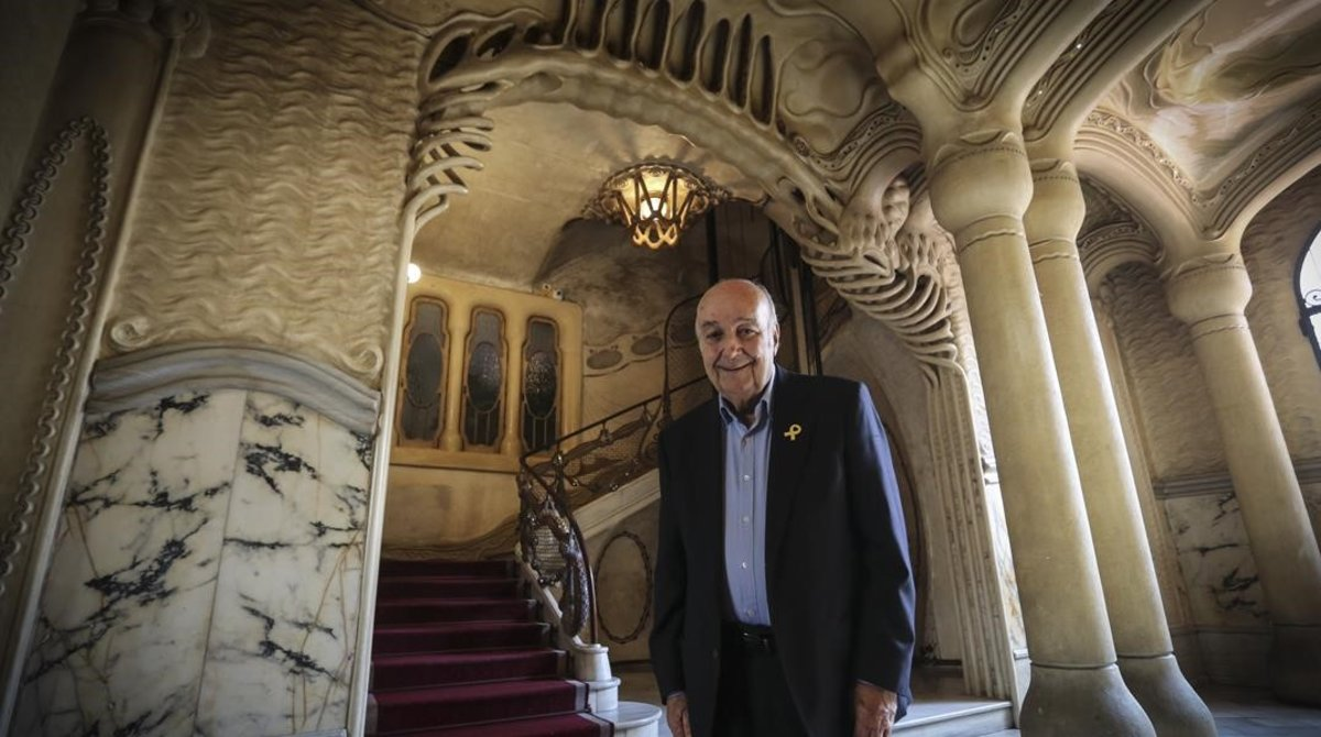 """Manuel Sayrach: """"La Casa Sayrach es un homenaje a Catalunya"""""""