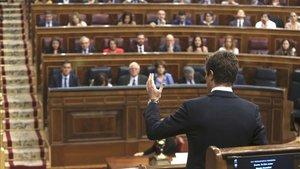 Sánchez i Casado s'encreuen retrets per empitjorar la imatge de la justícia