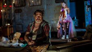 Pere Arquillué en un momento de 'Jerusalem', conocho nominaciones a los Premios Butaca.