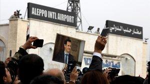 L'aeroport d'Alep reobre després de vuit anys tancat per la guerra