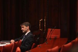 Oriol Pujol, a finals de juny al Parlament.