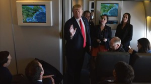 mbenach37157377 us president donald trump chats with reporters on board air 170203222953