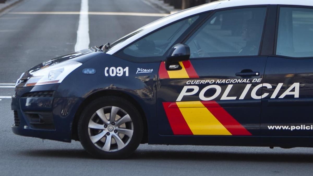 Una patrulla de la policía