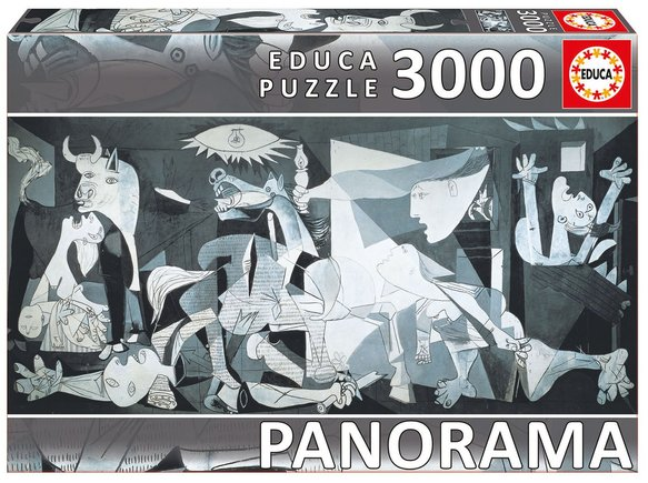 Guernica Picasso puzzle