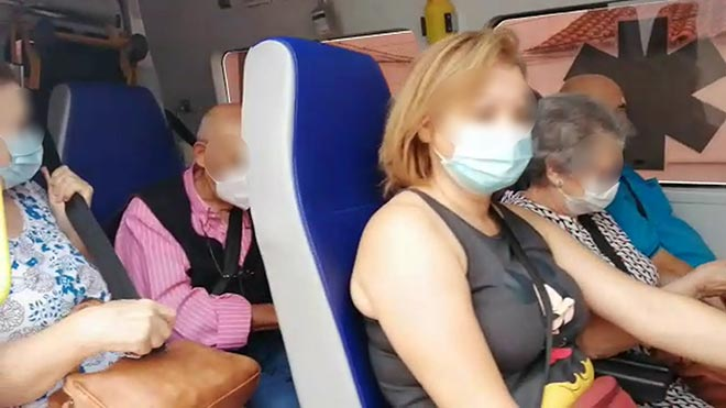 El coronavirus también viaja en ambulancia