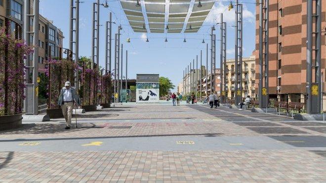 L'i.lab de Barcelona busca un paviment que generi energia neta i renovable