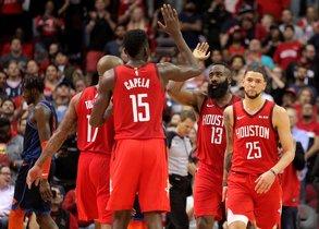 La gran labor ofensiva de Harden permitió a los Rockets ganar su segundo partido consecutivo sin la presencia del base titular Chris Paul.