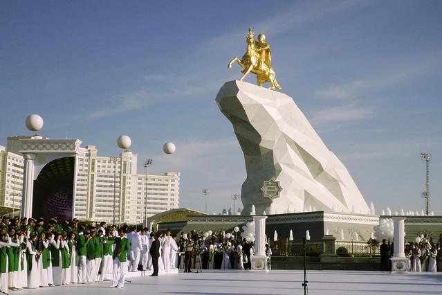 Resultado de imagen de Turkmenistán