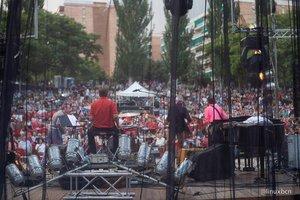Imagen de una edición anterior del Festival de Blues de Nou Barris.