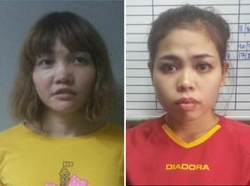 Les dues joves detingudes per la mort de Jong-nam poden ser condemnades a la forca