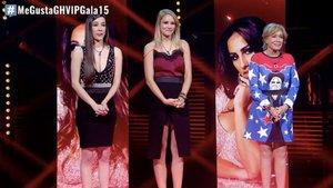 Adara, Alba Carrillo y Mila Ximénez en 'GH VIP 7'.