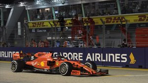 F-1 GP de Singapur: seguiu la carrera en directe 'online'