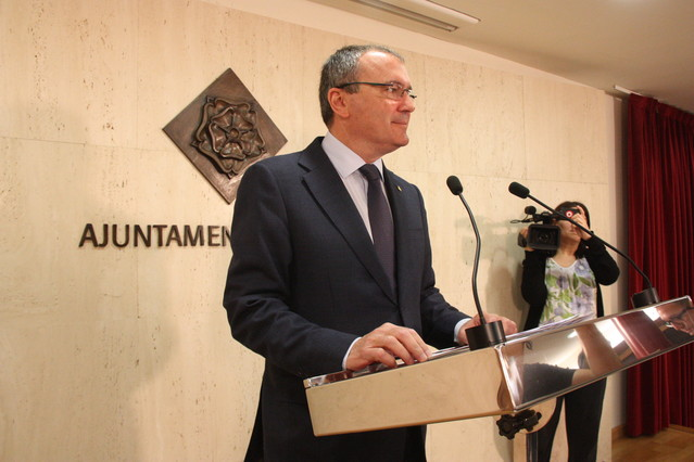 El alcalde de Reus, Carles Pellicer.