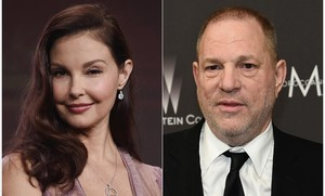 Ashley Judd y Harvey Weinstein.