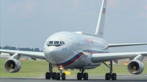 Un avión en una imagen de archivo.