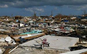 Daños provocados por el huracán Dorian en Bahamas.