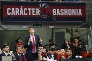 Pablo Prigioni, el miércoles en su último partido con el Baskonia.