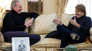 Bertín Osborne y Bigote Arrocet en 'Mi casa es la tuya'.