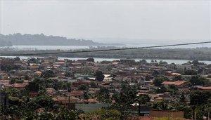Ciudades amenazas por madereros ilegalesen elestado amazónico de Pará, Brasil.