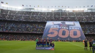 Messi se sube al 600