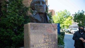 Campus de la Universidad George Washington, en Washington DC.