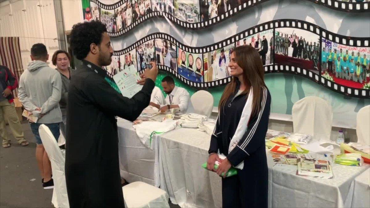 Laura Villarpriego se inscribió en la competición celebrada en el país árabe.