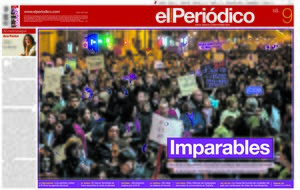 La portada d'EL PERIÓDICO del 9 de març del 2019