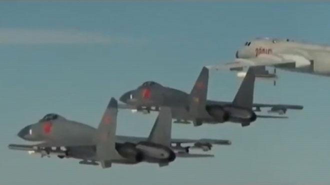 La Xina difon el vídeo d'un bombardeig simulat a una base nord-americana