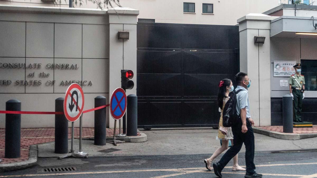 China exige a EEUU el cierre de su consulado en la ciudad de Chengdu (en la foto).