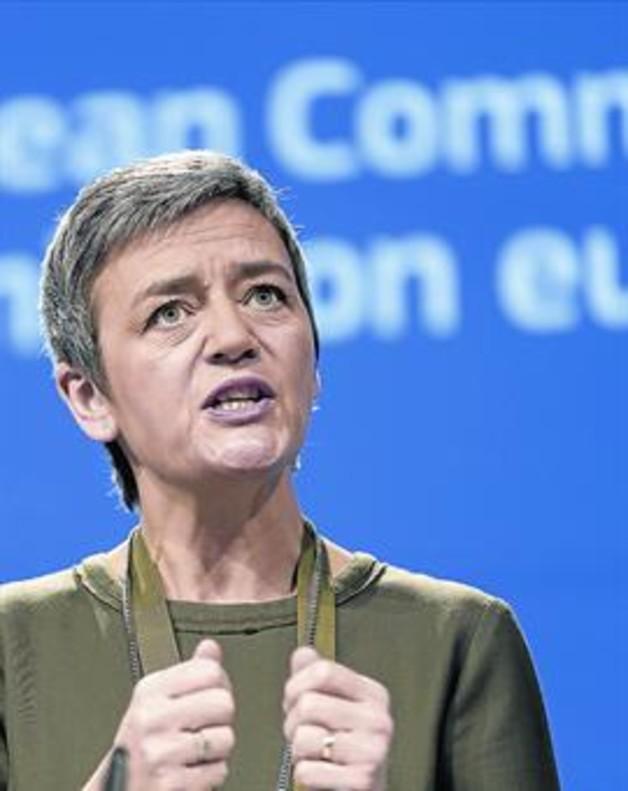 La comisaria de competencia, Margrethe Vestager