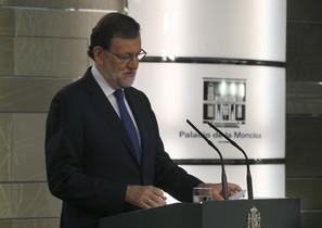 El presidente del Gobierno en funciones, Mariano Rajoy, en la Moncloa.