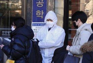 Corea del Sur reportó hoy 60 nuevos casos.
