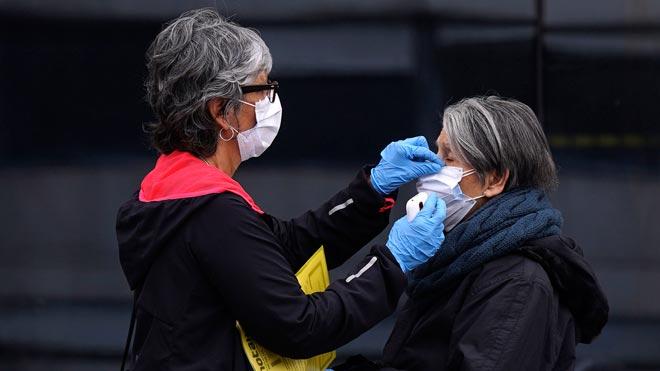 Les morts i els contagiats a Espanya experimenten un lleuger repunt