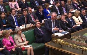 Debate en el Parlamento británico el 29 de marzo del 2019.