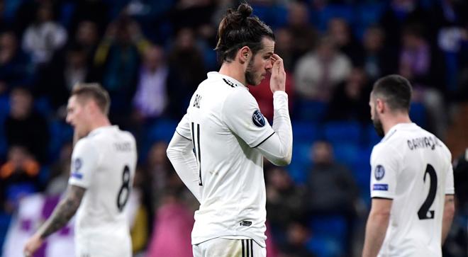 Gareth Bale durante el encuentro.