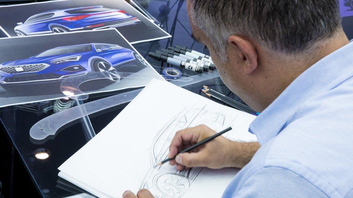 Diseño de automóviles en Seat.